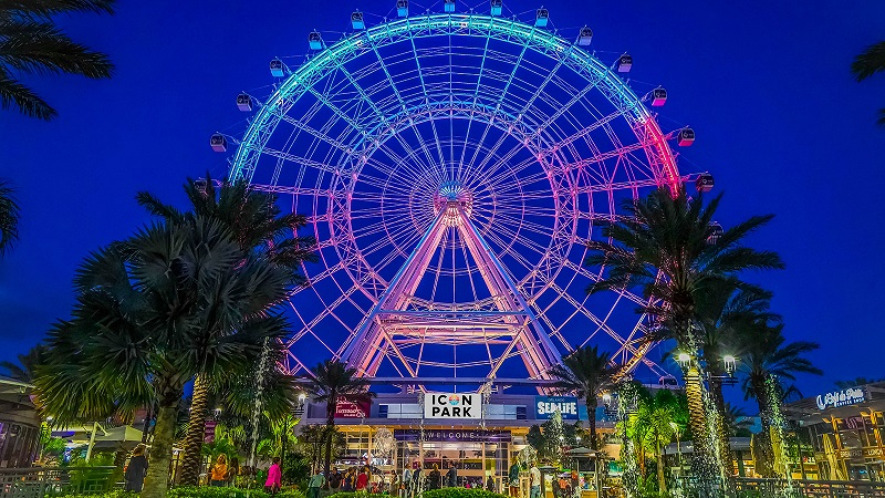 Roda gigante do ICON 360 em Orlando