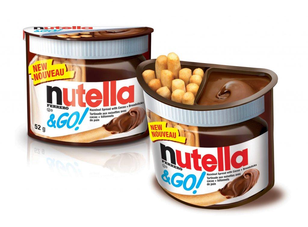 Potes de Nutella em Orlando