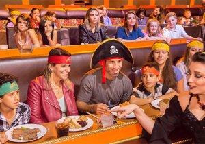 Restaurante Pirates Dinner Show em Orlando