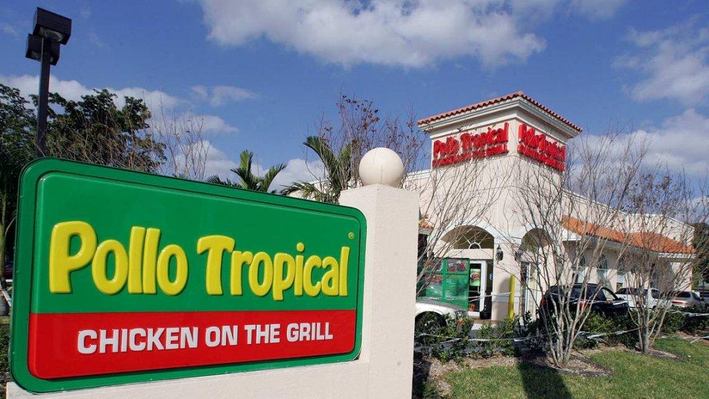 Entrada do Restaurante brasileiro Pollo Tropical em Orlando