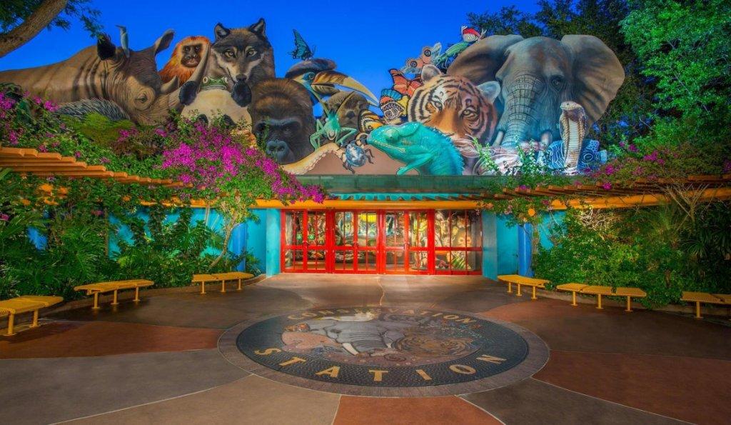 Rafiki's Planet Watch no parque Animal Kingdom em Orlando