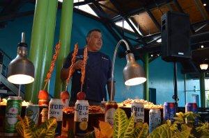 Petiscos e cervejas do Craft Beer Festival no SeaWorld Orlando