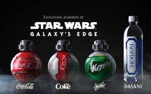 Garrafas de Star Wars vendidas na Disney