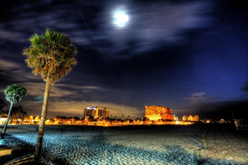 Noite em Clearwater