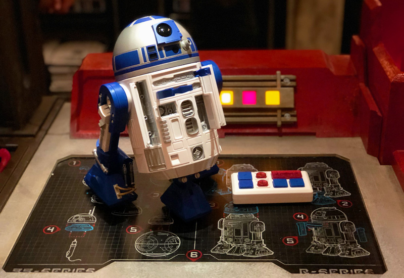 Manual do Droid Depot na Star Wars Land da Disney Orlando